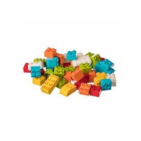L-W Toys Stavebnice JUNIOR KOSTKY 100 ks