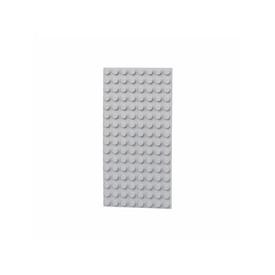 L-W Toys Oboustranná deska 8x16 světle šedá