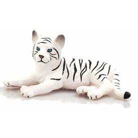 Mojo Animal Planet Tygr bílý mládě ležící