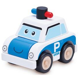 Wonderworld Dřevěná Mini stavebnice Policejní auto