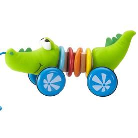 Wonderworld Dřevěný rachtající krokodýl