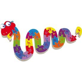 Small foot Puzzle Hadí abeceda