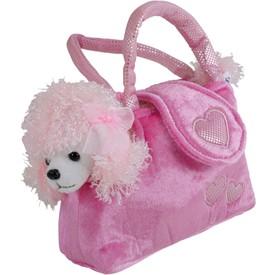 Small Foot Dětská růžová kabelka pudl v kabelce Trixi