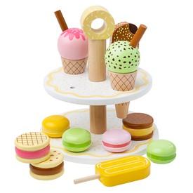 Bigjigs Toys Dřevěný stojan na sladké dobroty