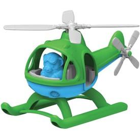 Green Toys Vrtulník zelený