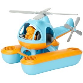 Green Toys Vrtulník hydroplán modrý