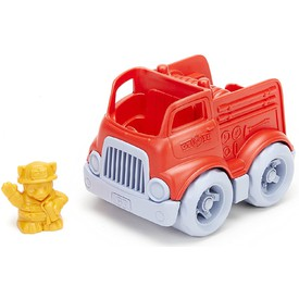 Green Toys Mini hasičské auto