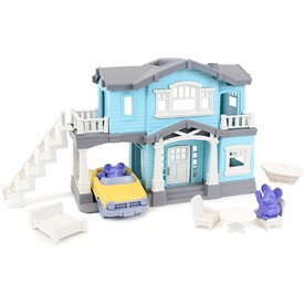Green Toys Domeček modrý