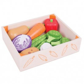 Bigjigs Toys Krabička se zeleninou poškozený obal