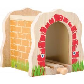 Small Foot Železniční tunel