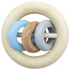 Hess Chrastítko tři kroužky modrá