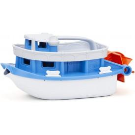 Green Toys  Loďka modro-bílá