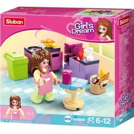 Sluban Girls Dream M38-B0800B Kuchyň