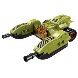 Qman Thunder Expedition Battle Car 1415-8 Lejzrový odstřelovací vůz