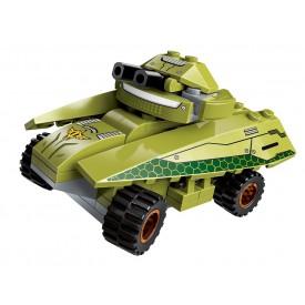 Qman Thunder Expedition Battle Car 1415-6 Obrněný vůz Magnetic Storm