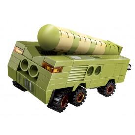 Qman Thunder Expedition Battle Car 1415-5 Raketové vozidlo Conqueror