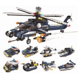 Qman Storm Armed Helicopter 1801 1 část