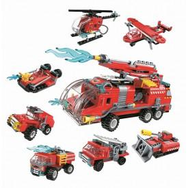 Qman Water Cannon Fire Truck 1805 1 část