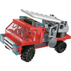 Qman Water Cannon Fire Truck 1805-5 Hasičský vůz s žebříkem