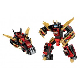 "Qman Guardian of Star´s Core 3105-4 Robot ""Ninja"" 2v1"