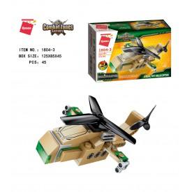 Qman Raider Aircraft 1804-3 Vrtulník Stealthy