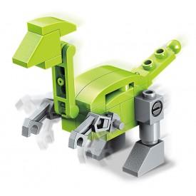 Qman Squros Extreme Changerble 2102-9 Robot Velocisaurus 3v1