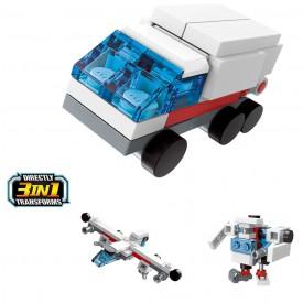 Qman Trans Collector 3in1 2104-7 Záchranářské auto Carrier 3v1
