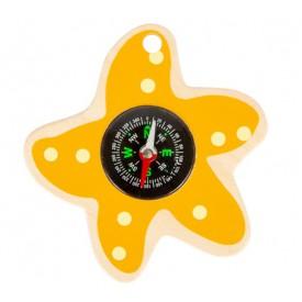 Small Foot Vodní hračka hvězdice žlutá