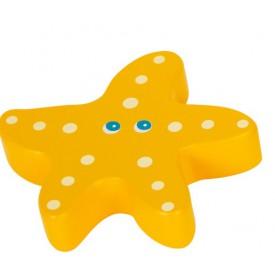 Small Foot Vodní hračky chrastítka 1 ks žlutá
