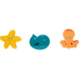 Small Foot Vodní hračky chrastítka 1 ks