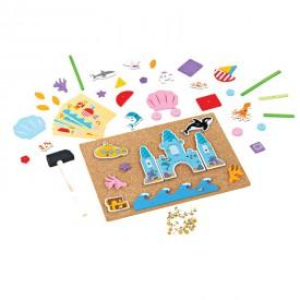 Bigjigs Toys Kreativní zatloukací hra život v moři