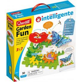 Quercetti Garden Fun Georello bugs a gears převodová stavebnice zahrádky