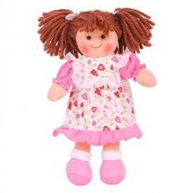 Bigjigs Toys Látková panenka Amy 28 cm