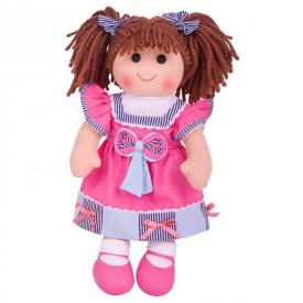 Látková panenka Emma - 38 cm