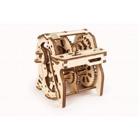 Ugears 3D dřevěné mechanické puzzle Stem Lab Převodovka