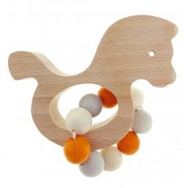 Hess Chrastítko koníček Natur oranžový