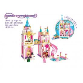 Qman Princess Leah 2615 Ledový zámek