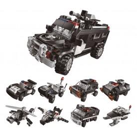 Qman Trans Collector 1808 Komplet 8v1 Superobrněné vozidlo