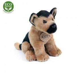 Rappa Plyšový pes 20 cm ECO-FRIENDLY 1 ks německý ovčák