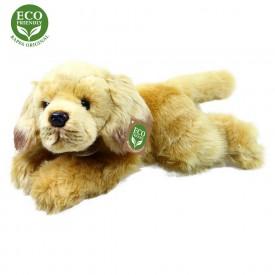 Rappa Plyšový pes ležící 30 cm ECO-FRIENDLY1 ks zlatý