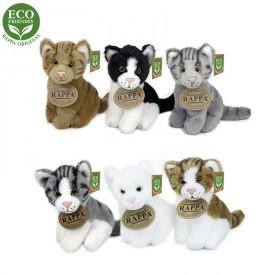 Rappa Plyšová kočka sedící 11 cm ECO-FRIENDLY 1 ks