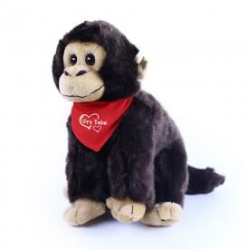 Rappa Plyšová opice se šátkem 20 cm