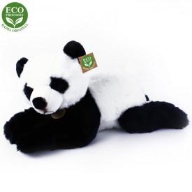 Rappa Plyšová panda ležící 43 cm ECO-FRIENDLY