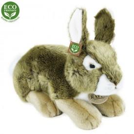 Rappa Plyšový Plyšový králík šedý 25 cm ECO-FRIENDLY