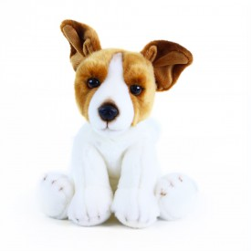Rappa Plyšový pes jack russell teriér sedící 26 cm