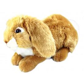 Rappa Plyšový králík ležící 30 cm