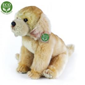 Rappa Plyšový labrador sedící 27 cm ECO-FRIENDLY