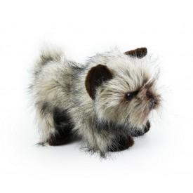 Rappa Plyšový pes kernteriér sedící 28 cm