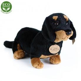 Rappa Plyšový pes jezevčík sedící 30 cm ECO-FRIENDLY