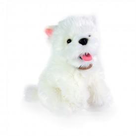 Rappa Plyšový pes westík sedící 23 cm